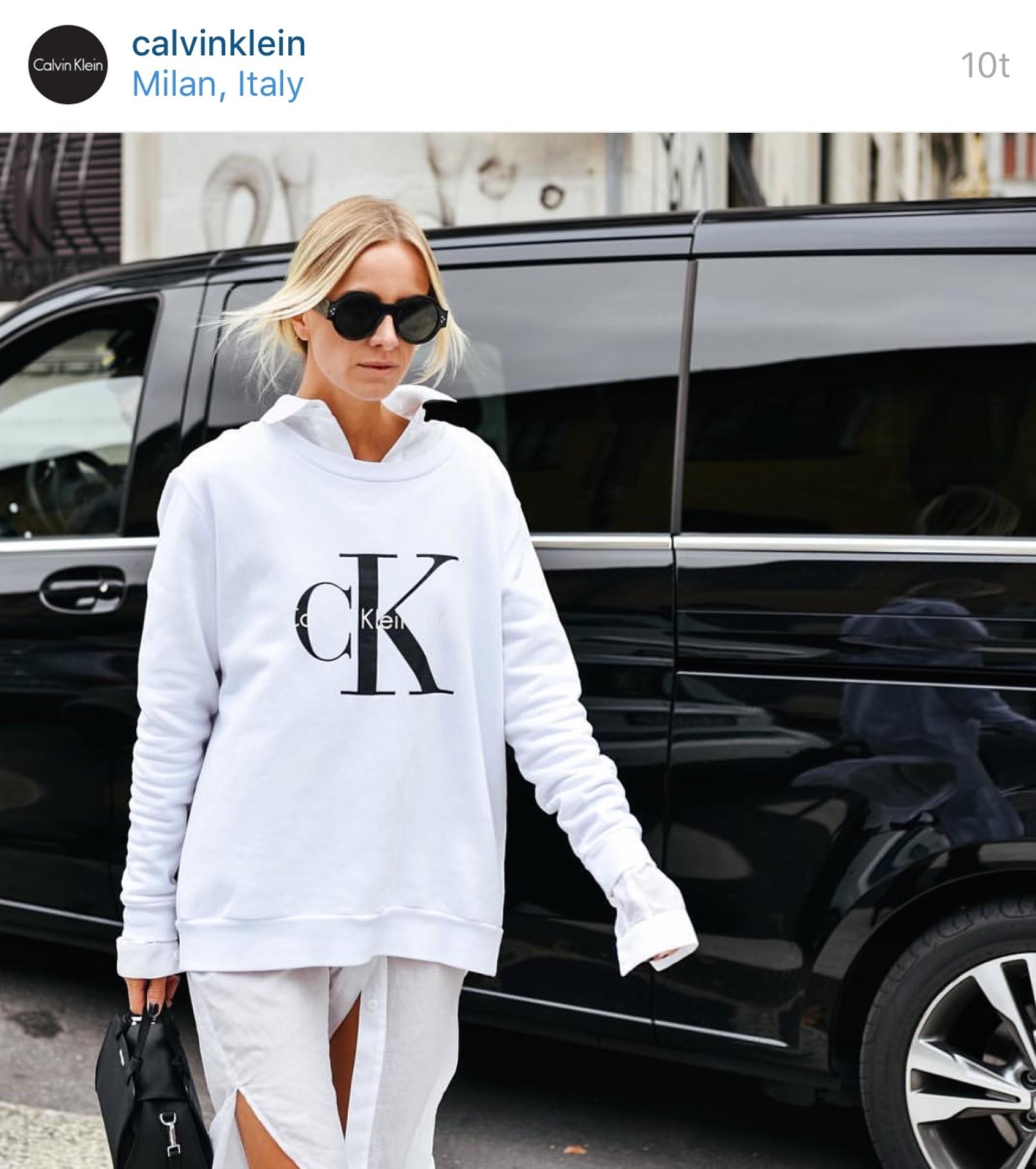 4f528ab22fc Celine Aagaard feature in Milan at Calvin Klein | Envelope