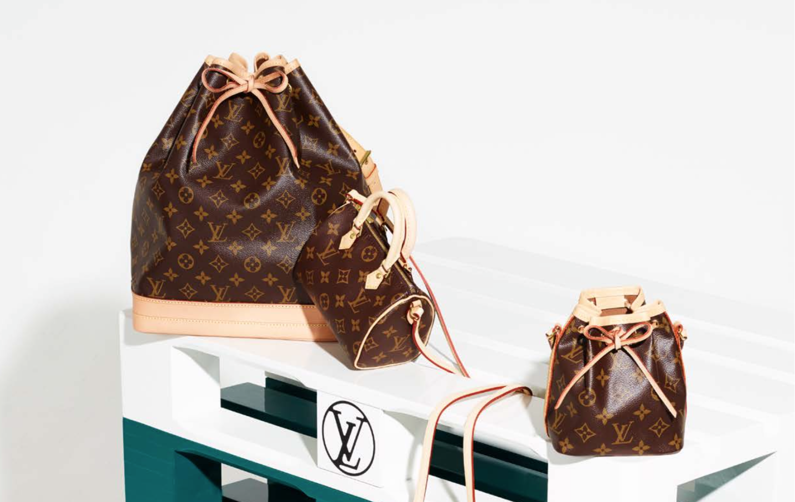 cceef20a2690 Louis Vuitton with seven iconic nano bags